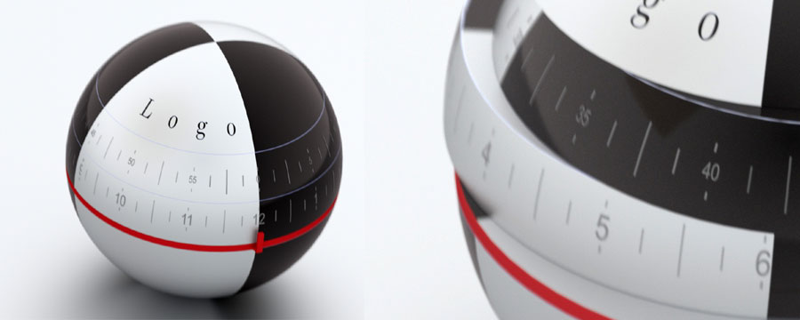 Polyconcept 3D Ball clock design