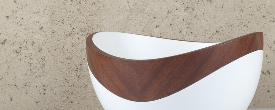 wooden accessories bowl